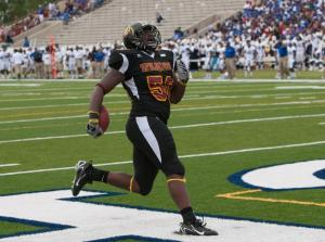 LeBrandon Richardson -Credits BCU Athletics
